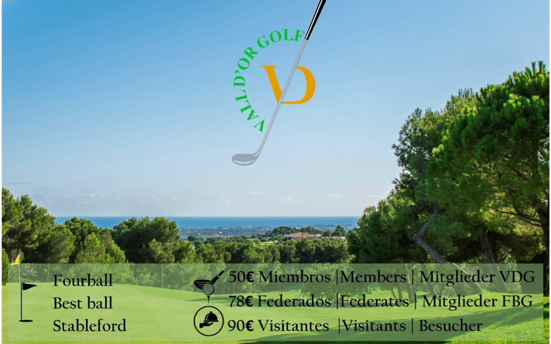 X Torneo Vall d'Or Golf