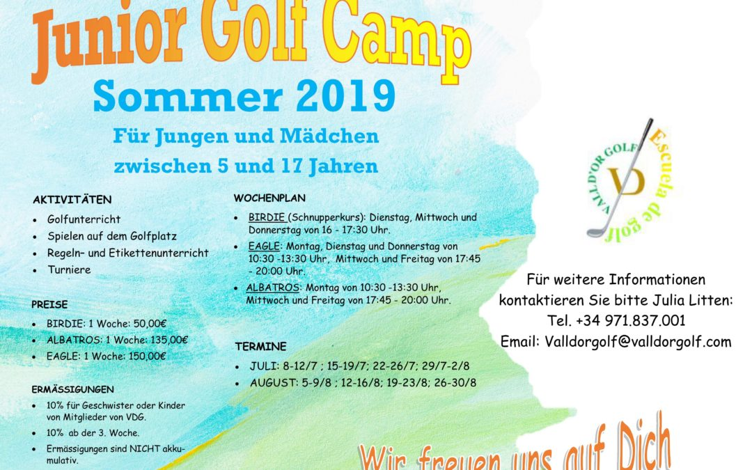 SOMMER GOLF CAMPS